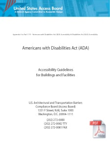 ADA Accessibility Guidelines
